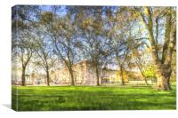 Buckingham Palace Art, Canvas Print
