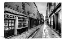 The Shambles York, Canvas Print
