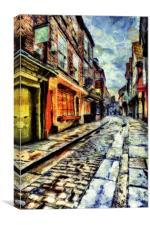 The Shambles York Art, Canvas Print