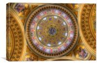 St Stephens Basilica Budapest Hungary, Canvas Print