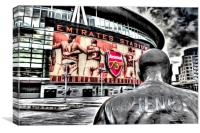 Thierry Henry Statue Art, Canvas Print