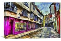 The Shambles York Vincent Van Gogh, Canvas Print