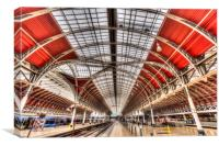 Paddington Station London, Canvas Print