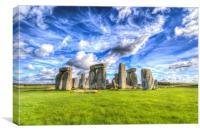 Stonehenge Ancient Britain, Canvas Print