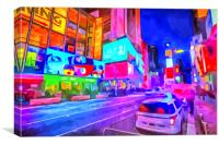 Times Square New York Art, Canvas Print