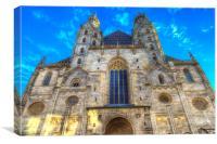 St Stephen's Cathedral Vienna, Canvas Print