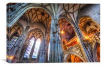 St Stephens Cathedral Vienna, Canvas Print