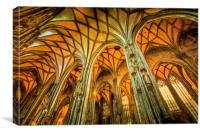 St Stephens Cathedral Vienna Art, Canvas Print