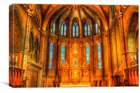 Mathias Church Budapest, Canvas Print