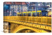 Margaret Bridge Budapest, Canvas Print