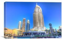 Dubai Architecture, Canvas Print