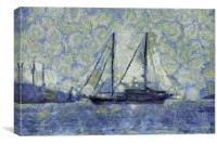 The Ship Van Goth, Canvas Print