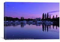 Evening on Lough Erne, Canvas Print