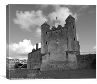 Enniskillen Castle Flag, Canvas Print