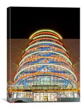 Dublin Convention Centre, Canvas Print