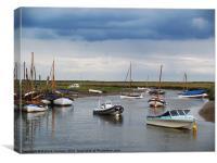 Blakeney Harbour, Canvas Print