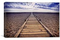 Boardwalk, Canvas Print