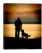 Man's Best Friend, Canvas Print