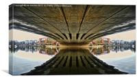 MAIDSTONE REFLECTIONS, Canvas Print