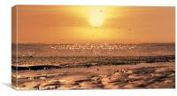 THE MORNING TIDE, Canvas Print