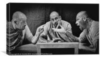 ME, MYSELF & I, Canvas Print