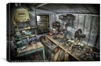 PLACE OF WORK, Canvas Print