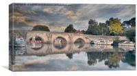 FARLEIGH BRIDGE, Canvas Print