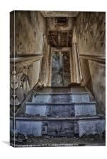 STAIRWAY TO HELL, Canvas Print