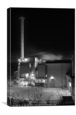 MAIDSTONE INCINERATOR 2, Canvas Print