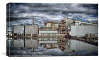 AN INDUSTRIAL REFLECTION, Canvas Print
