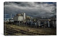 A DYING INDUSTRY, Canvas Print