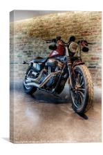 THE CUSTOM RIDE, Canvas Print