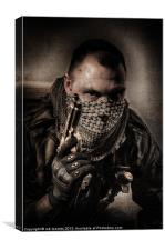 IM ONLY A SOLDIER, Canvas Print
