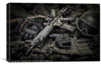 LOCK AND LOAD, Canvas Print