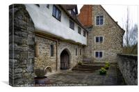 THE PRIORY, Canvas Print