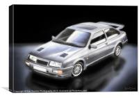 SIERRA RS 500 COSWORTH, Canvas Print