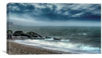 BOGNOR BEACH, Canvas Print