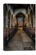 ALL SAINTS CHURCH, Canvas Print