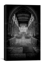 THE ALTER, Canvas Print