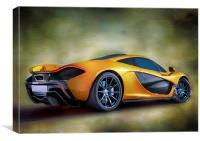 McLaren P1, Canvas Print