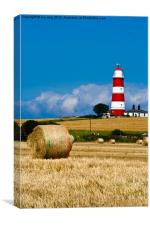 Lighthouse at Happisburgh, Canvas Print