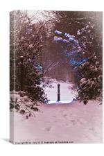 gate way to Narnia, Canvas Print