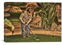 golfer, Canvas Print