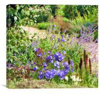 floral beauty, Canvas Print