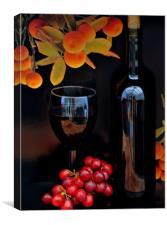 vino, Canvas Print