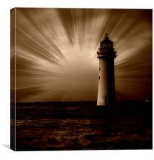 rays, Canvas Print