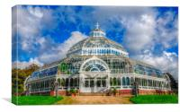 the palm house, Canvas Print