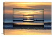 mirrored image, Canvas Print