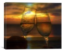 cheers, Canvas Print