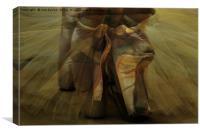 the ballet, Canvas Print